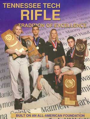 2001-2002 TTU Rifle Team