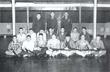 1953-54 TPI Rifle Team