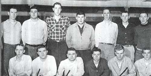1955 Tech Rifle Team