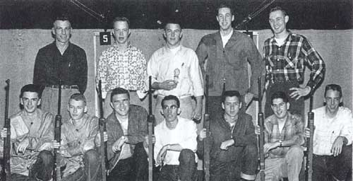 1956 Tech Rifle Team