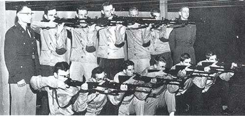 1957 Tech Rifle Team