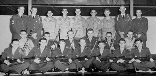 1958 Tech Rifle Team