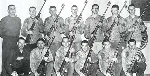 1960 Tech Rifle Team
