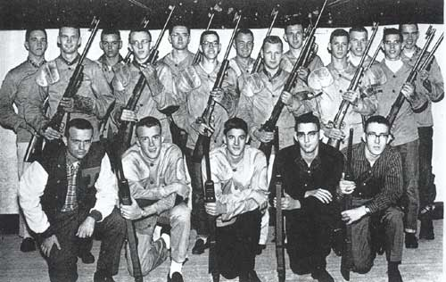 1961 Tech Rifle Team