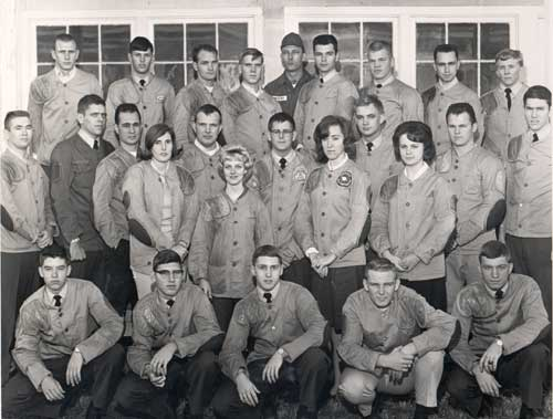 1964-65 Tech Rifle Team