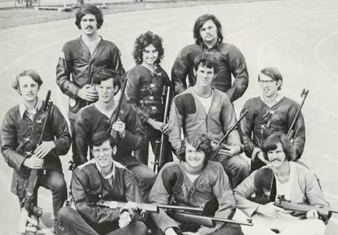 1971-72 TTU Rifle Team