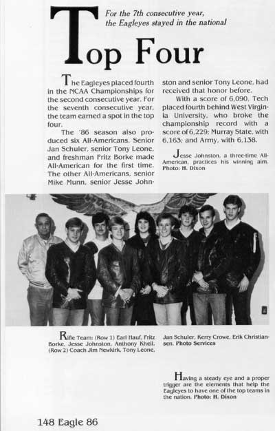 1986 yearbook article