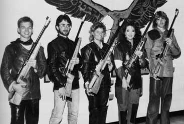 1988 TTU Rifle Team