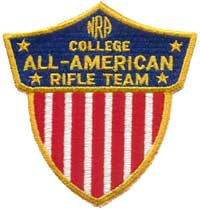 All-American Rifle Team patch